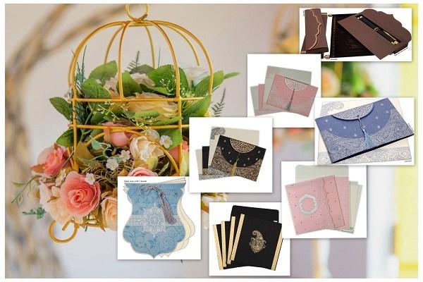 Pantone Inspired Spring Wedding Invitations - A2zWeddingCards