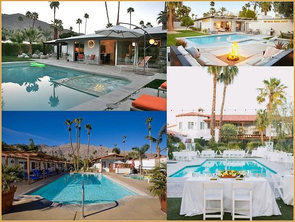 Palm Spring Weddings Pools - A2zWeddingCards