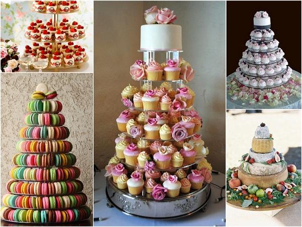Wedding Cake Substitutes - A2zWeddingCards