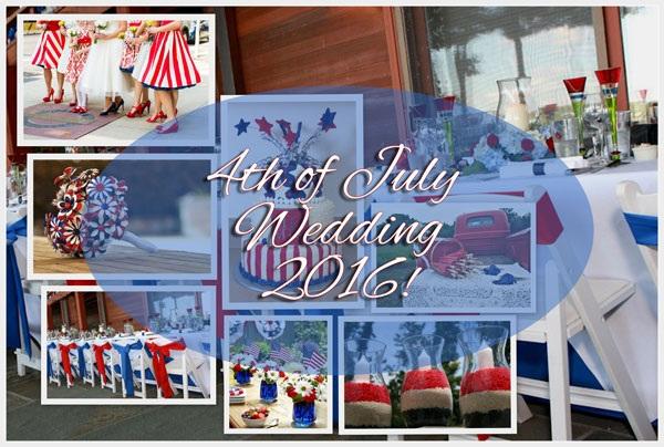 4th of july wedding - A2zWeddingCards