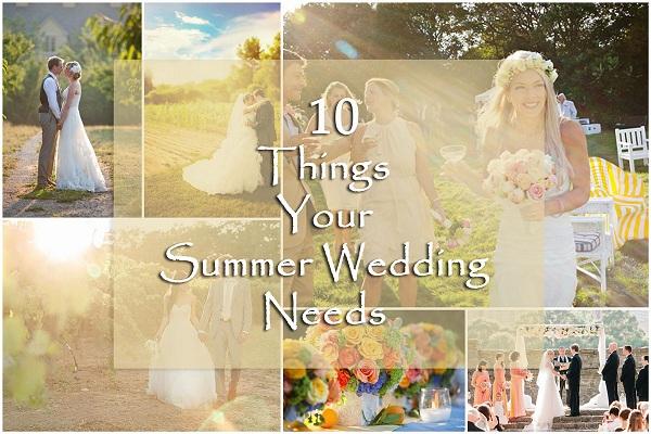 Summer Wedding Ideas - A2zWeddingCards