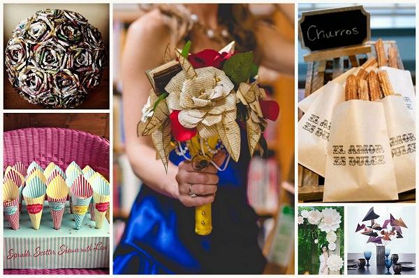 Paper art wedding theme - A2zWeddingCards