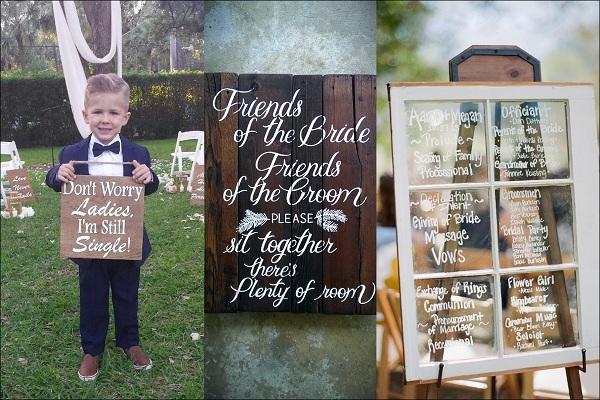 Unique Wedding Signboards - A2zWeddingCards