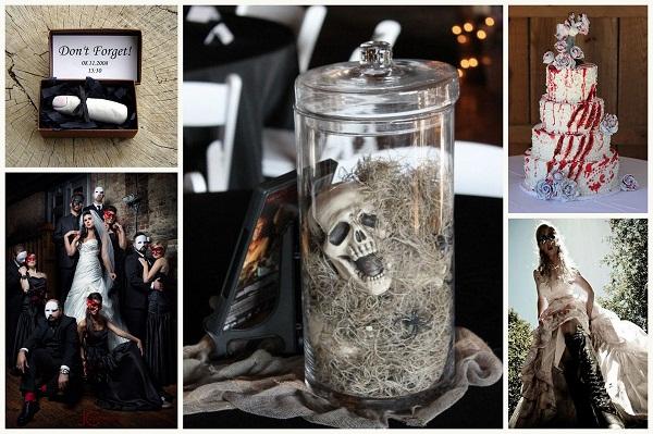 Zombie theme for the wedding - A2zWeddingCards