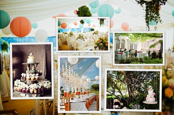 Daytime reception & Display Cake - A2zWeddingCards