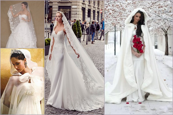 Bridal cape trends - A2zWeddingCards