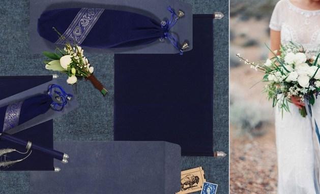 Purple-Scroll-Wedding-Invitations - A2zWeddingCards