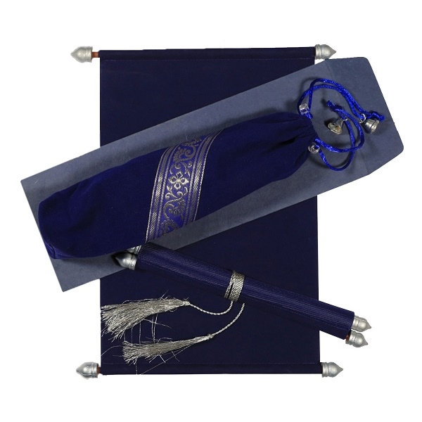 Royal-Blue-Scroll-Wedding-Cards