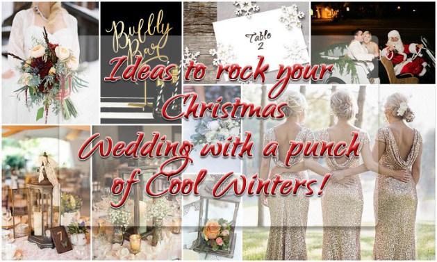 Christmas Winter Wedding - A2zWeddingCards