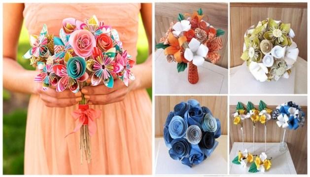 Origami-Wedding-Bridal-Bouquet-A2zWeddingCards