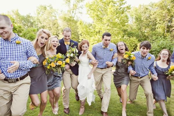 Gingham wedding inspirations -A2zWeddingCards