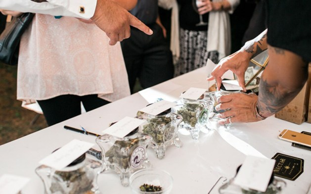Cannabis wedding bar
