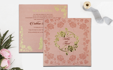 Indian Wedding Invitations-A2zWeddingCards