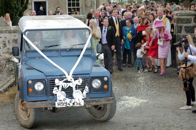 Kit Harington and Rose Leslie's Wedding 9