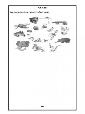 A2Zworksheets:Worksheet of Eating Habits of Animals