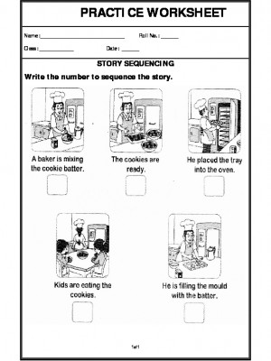A2Zworksheets: Worksheets of Story Writing-Writing-English
