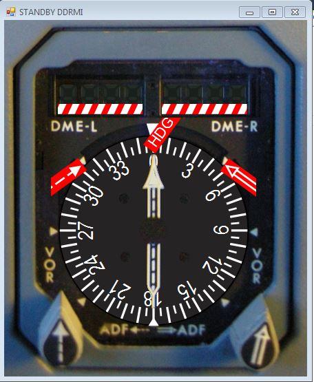 Digital Distance Radio Magnetic Indicator (DDRMI)