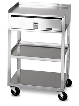 stainless kitchen cart commercial cleaning mb td steel with drawer therapy w50660 carts