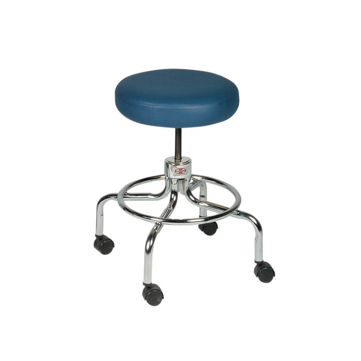 revolving chair features unfinished wooden chairs cheap stool on chrome base w50560 hausmann 2116
