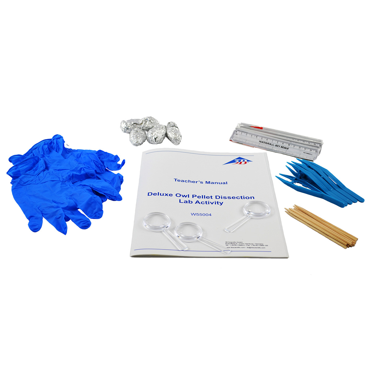 Deluxe Owl Pellet Dissection Lab Activity