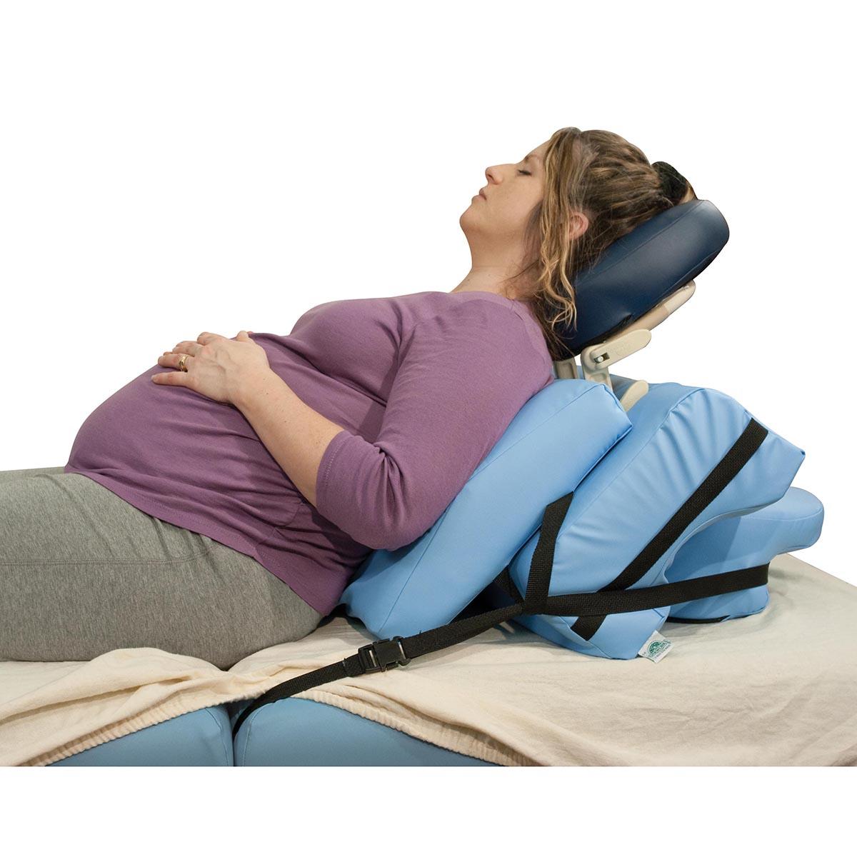 Oakworks Side Lying Positioning System  Massage Table