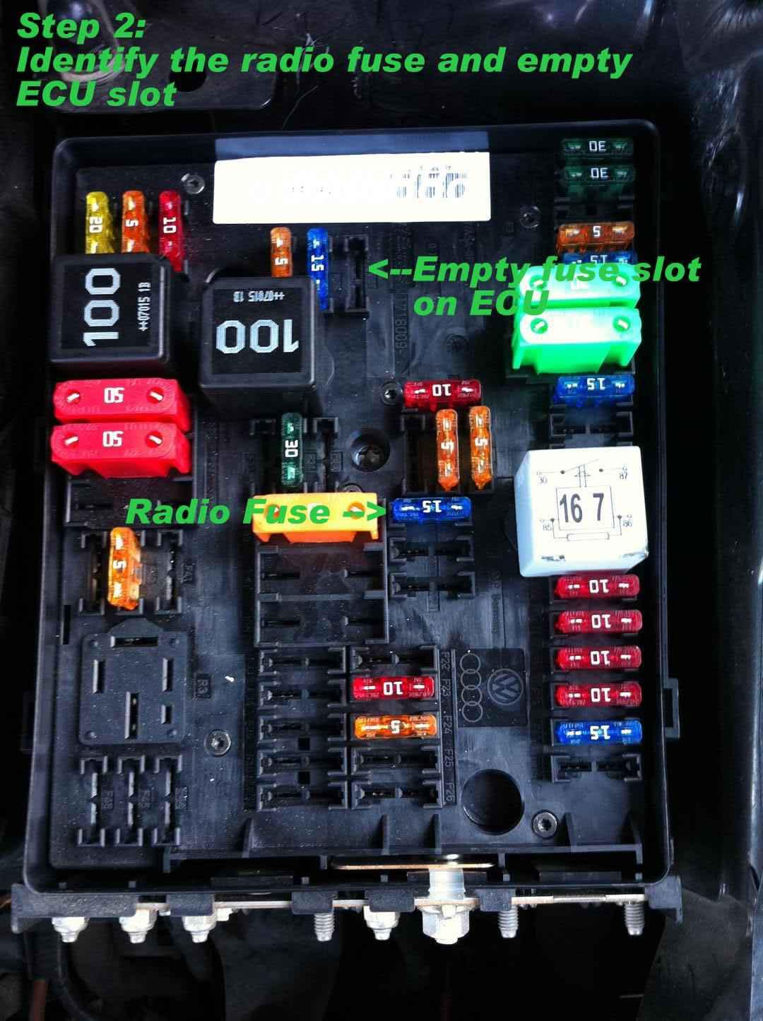 2010 Volkswagen Tiguan Fuse Box Diagram Montage Autoradio Gps Audio Amp 233 Lectronique Embarqu 233 E