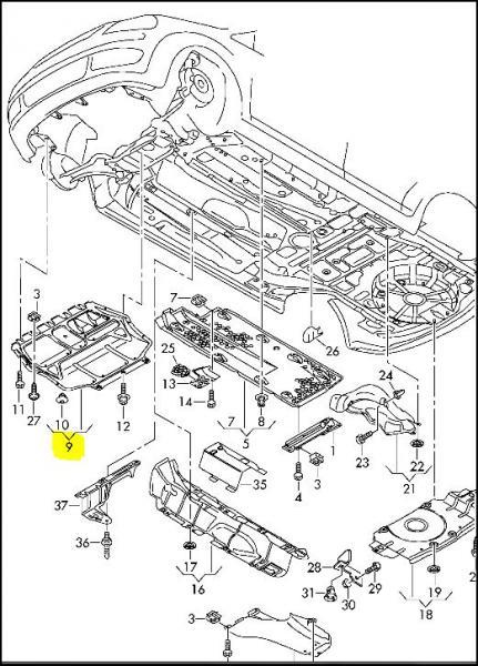 [Rech] Ref protection carter moteur : Références
