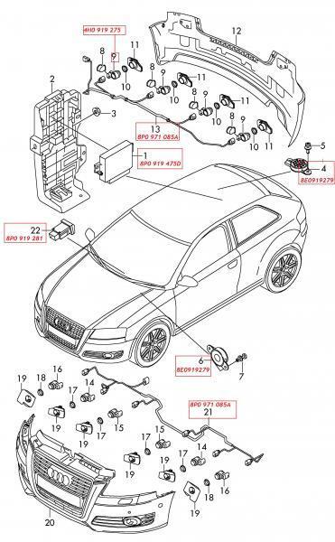 Radar de recul : Problèmes Electrique ou Electronique