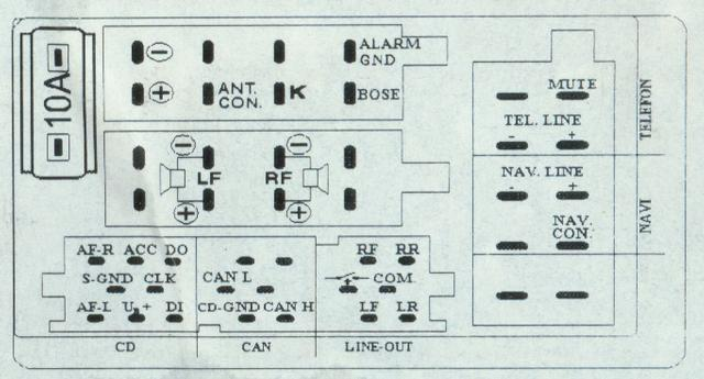 2006 audi a3 wiring diagram for concert radio