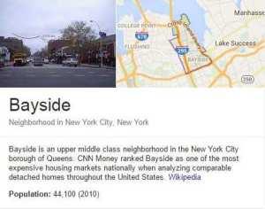 Bayside Service Area
