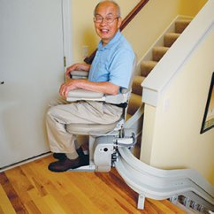 Wheelchair Lift For Stairs Dining Chair Cushion Covers Curved Rail Stair Lifts, A4 Access