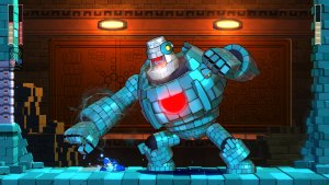 MegaMan11 screen Blockman