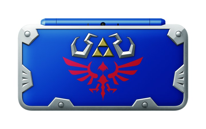 New Nintendo 2DS XL Hylian Shield Edition
