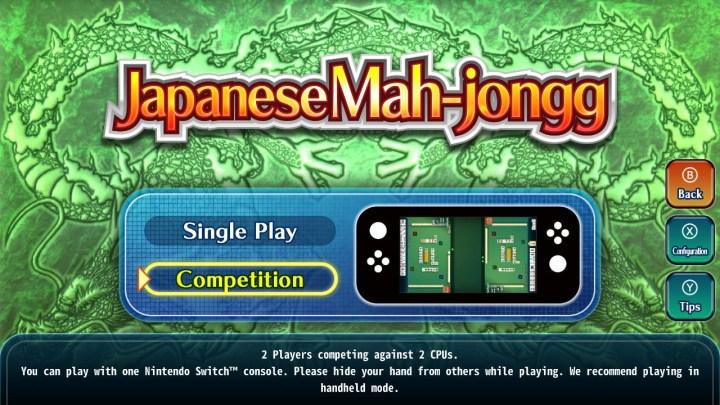 Japanese Mah-jongg