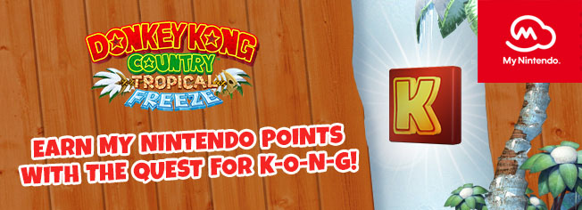 Earn My Nintendo Platinum Points with Donkey Kong Country: Tropical Freeze