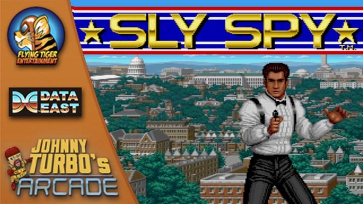 Johnny Turbo's Arcade: Sly Spy