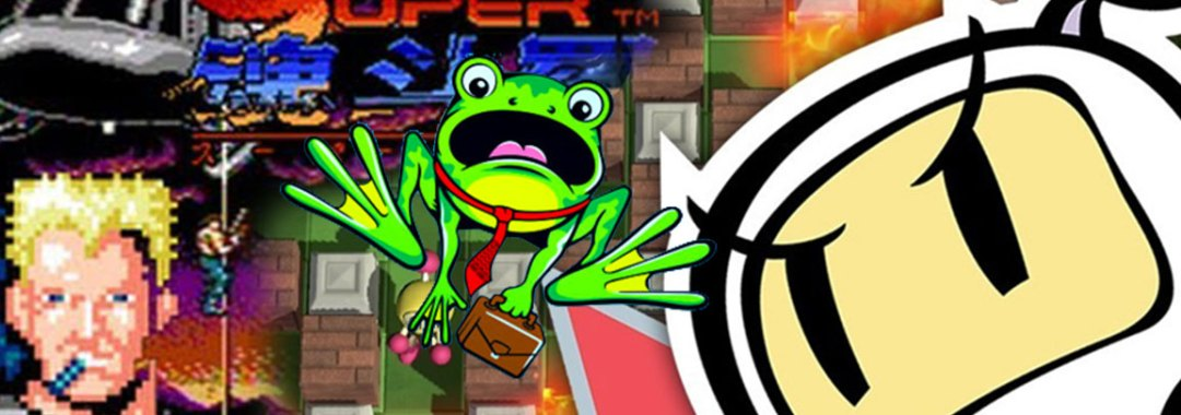 New Licensing Programs and Cross Media Content to be Developed Across Platforms for Bomberman, Contra and Frogger