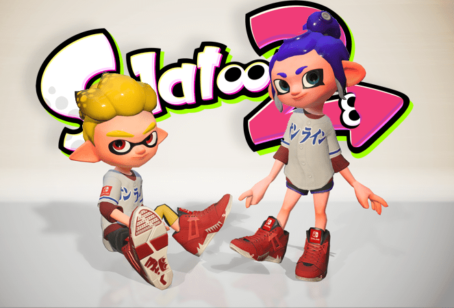 Exclusive Splatoon 2 in-game gear download code