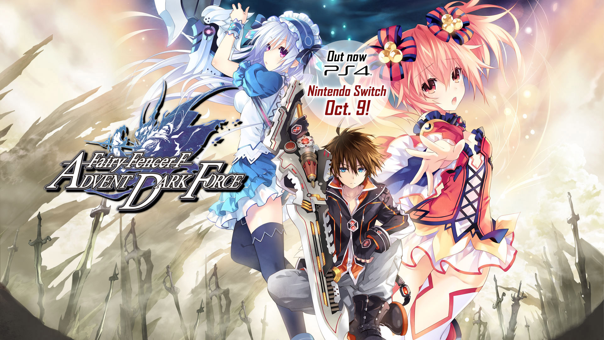 Fairy Fencer F Advent Dark Force Coming To Switch Blog Ppn