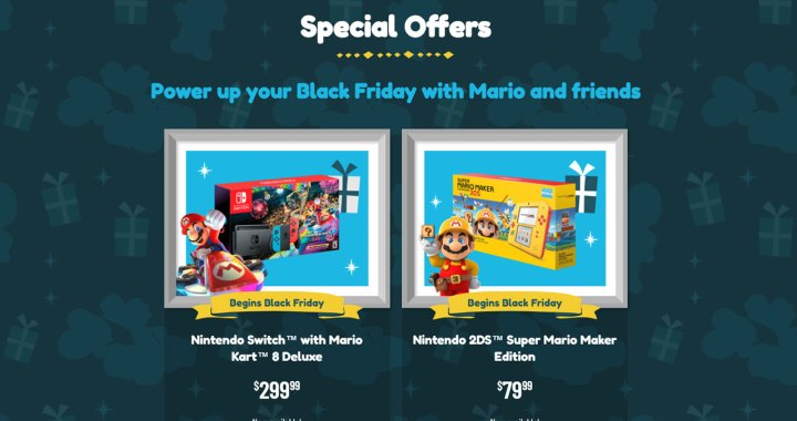 Save Coins on Black Friday with New Nintendo Switch and Nintendo 2DS Bundles