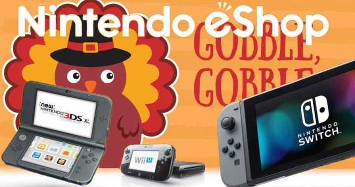Nintendo Download, Nov. 22, 2018: Gobble Up Great Deals on Nintendo eShop!