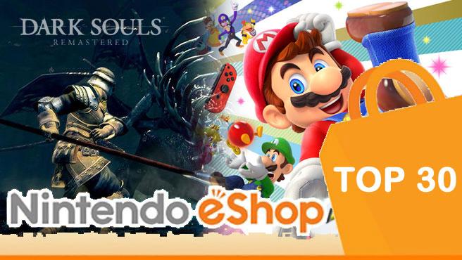 Nintendo eShop Top 30 Charts – November 2nd, 2018