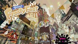 Splatoon 2 Frosty Fest