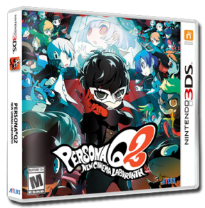 Persona Q2: New Cinema Labyrinth Pack Art