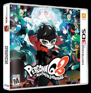 Persona Q2: New Cinema Labyrinth Pack Art