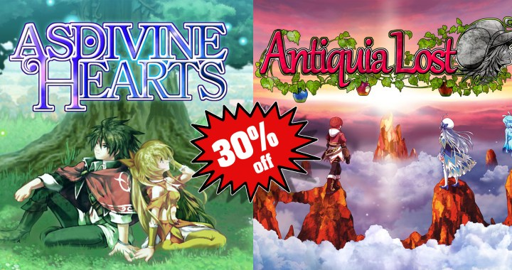 Special RPG Sale for Nintendo Switch: Asdivine Hearts & Antiquia Lost