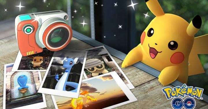 Pokémon GO Snapshot feature