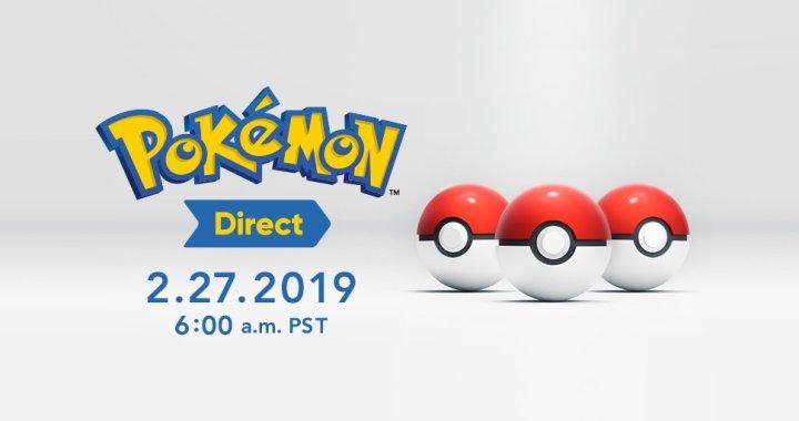 Pokémon Direct on Pokémon Day!