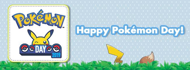 Happy Pokémon Day