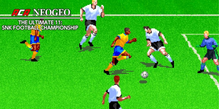 ACA NEOGEO THE ULTIMATE 11: SNK FOOTBALL CHAMPIONSHIP